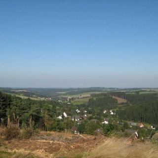 Der Blick auf Wildberger Hütte.