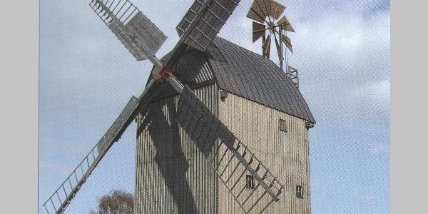 Die Windmühle von Oppelhain.