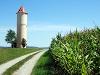 Wasserturm in Bölgental  - @ Autor: Heinz Obinger  - © Quelle: www.wegpunkt.de