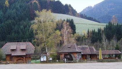 """An der Kronen-Mühle und beim Spielplatz """"Grasmücke"""" ist der Ausgangspunkt unserer Tour."""