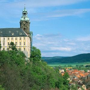 Schloss Heidecksburg in Rudolstadt.