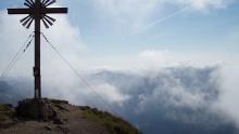 Bergwandertour von Linderhof bei Oberammergau zur Großen Klammspitze