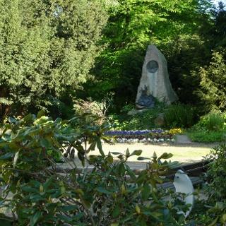 Hoffmann-von-Fallersleben Denkmal