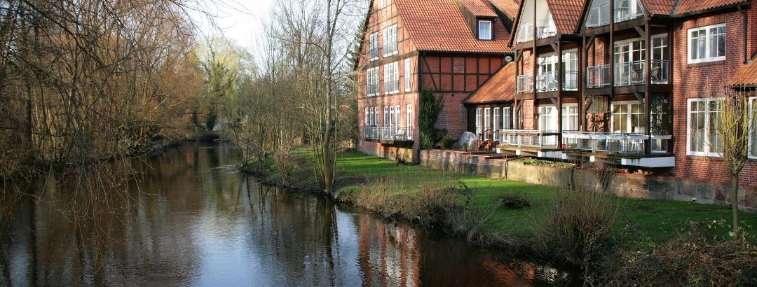Der Fluss Ilmenau