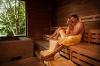 Ein wohltuender Saunagang bringt Kraft für die nächste Etappe  - @ Autor: Melanie Waltner  - © Quelle: Schwäbische Bäderstraße