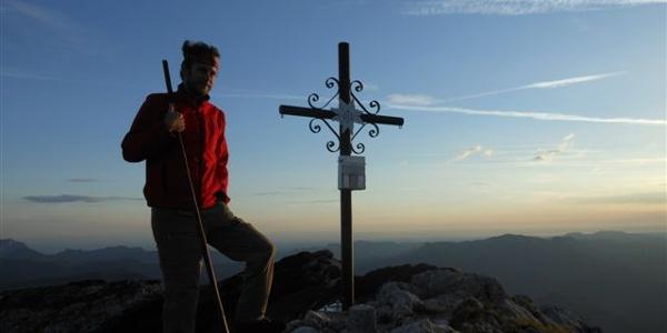 Sonnenaufgang, Erlebnis am Gipfel