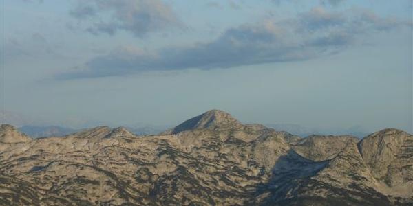 Blick ins Tote Gebirge, der Schönberg
