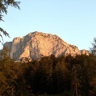 Sonnenaufgang am Berchtesgadener Hochthron
