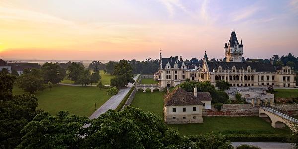 Schloss Grafenegg am Morgen