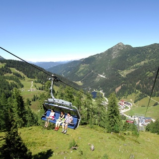 Seilbahn-Wandern