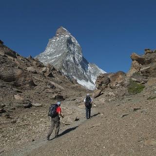 Aufstieg zur Hörnlihütte (3'260 m)