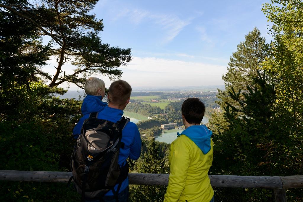 Aussichtspunkt  Kalvarienberg auf Lech und Schongau (Wolfgang Ehn)