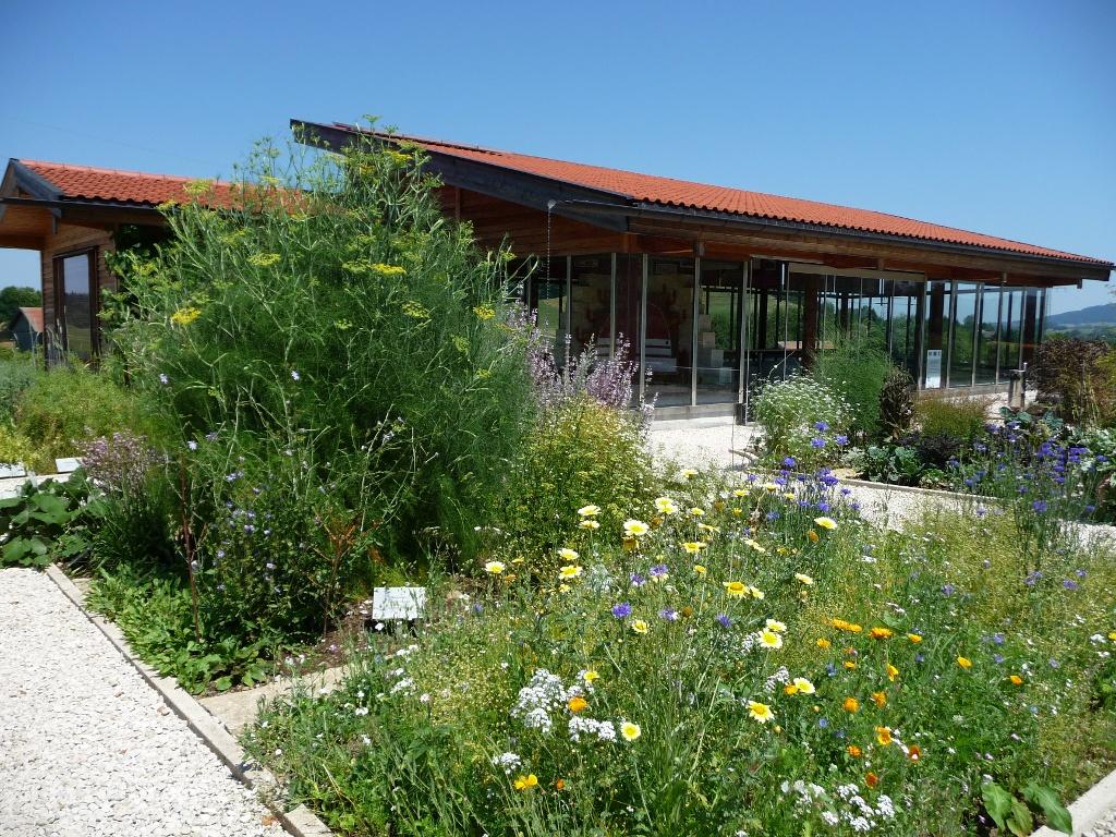 Küchen Heilkräutergarten Villa Rustica (Tourist Information Peiting)