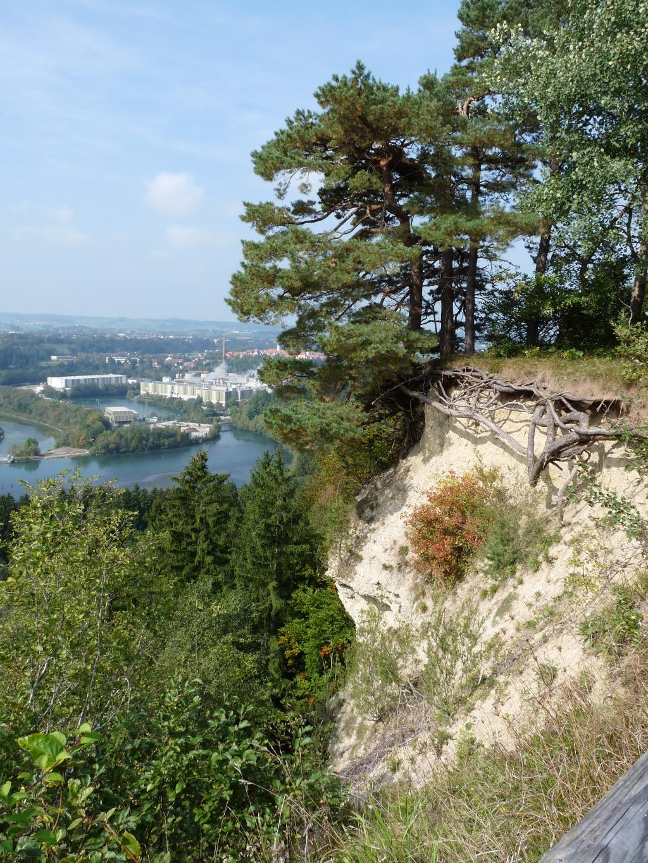 Ruselhalde mit Blick auf Schongau (Tourist Information Peiting)