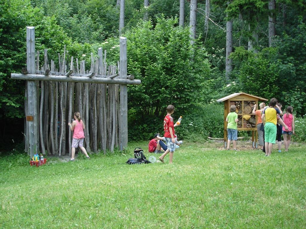 Klanglabyrinth / Insektenhotel (Tourist Information Peiting)