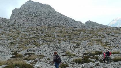 Auf dem Weg zum Gipfel Massanella.