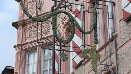 """Das Gasthaus """"Zum Engel"""" zählt zu den schönsten Renaissancebauten Südwestdeutschlands."""