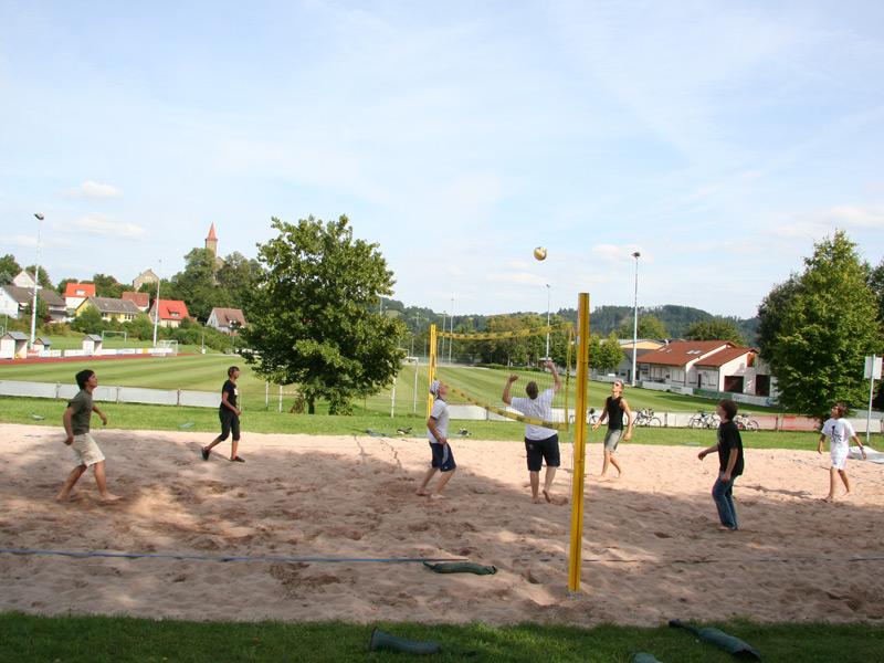 Beach-Volleyballfeld beim Sportplatz   - © Quelle: Gemeinde Rosengarten