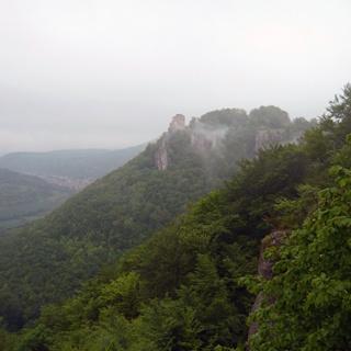 Der Aussichtspunkt Heimenstein.