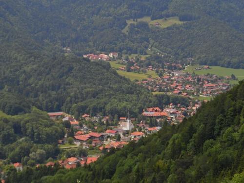 Herrlicher Ausblick auf Marquartstein
