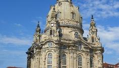 Frauenkirche am Dresdner Neumarkt