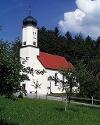 Vor dem blauen Himmel wirkt das Weiß dieser Kirche besonders strahlend.  - @ Autor: Gemeinde Oy-Mittelberg  - © Quelle: Outdooractive Redaktion