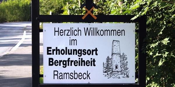 Bergbauwanderweg Ramsbeck - Ortseingang