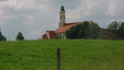 Das Kloster Reutberg.