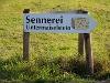 Wegweiser zur Sennerei Untermaiselstein.  - @ Autor: mlaessig  - © Quelle: Outdooractive Redaktion