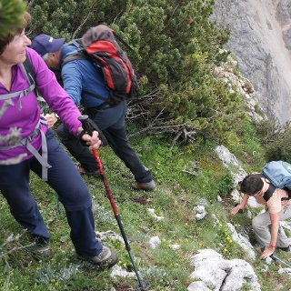 Leichte Kletterei 1