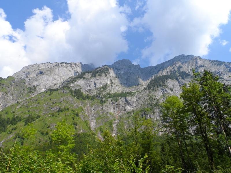 Herrliche Ausblicke auf das Tennengebirge