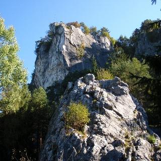 Einstieg zum Kalkofenkopf 640m