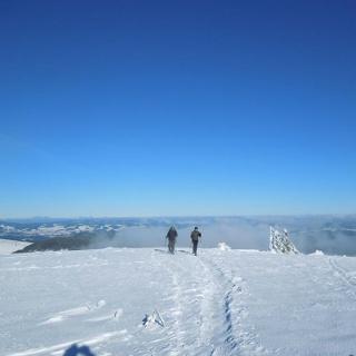 Schneeschuhwandern am Feldberg
