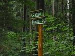 Foto Die Beschilderung Naturlehrpfad an den Sieben Teichen
