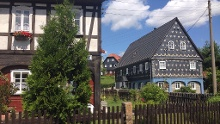 Oberlausitzer-Umgebindehaus-Radtour