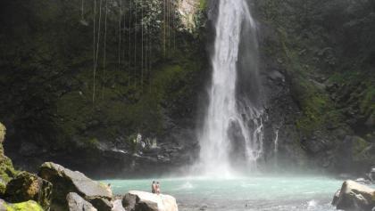 Das Ziel: Victoria Falls mit Pool