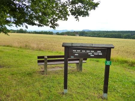 Foto Aussichtspunkt westlich von Rathewalde