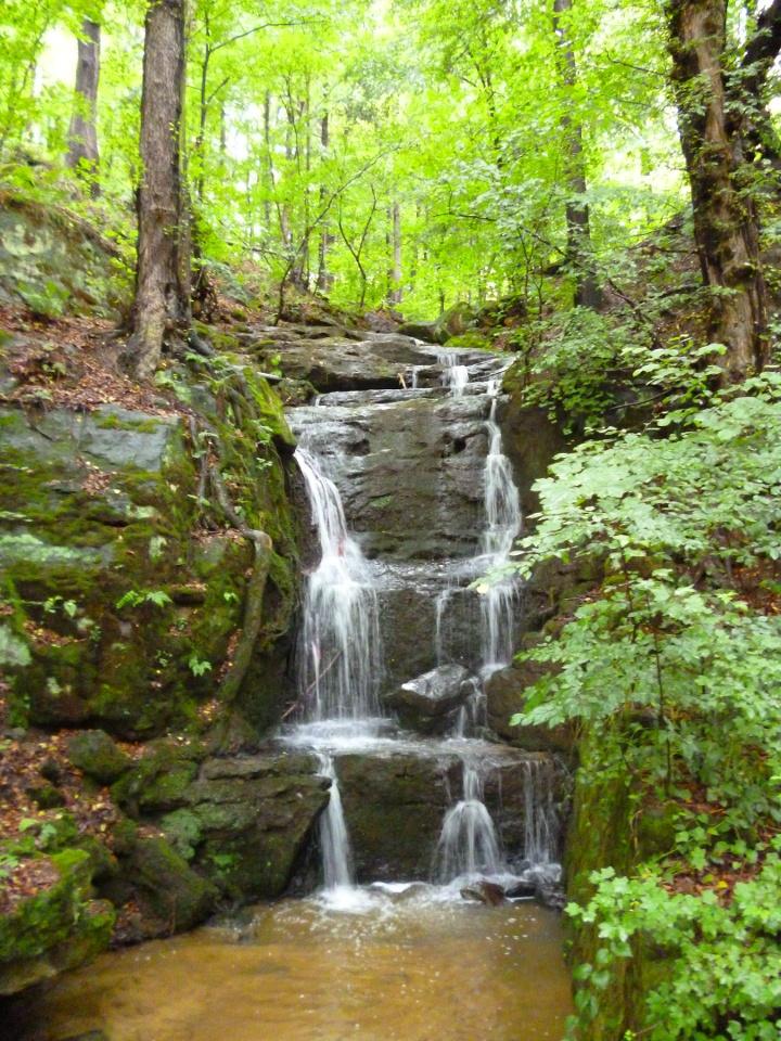 Foto Wasserfall am Aufstieg zur Winkeaussicht