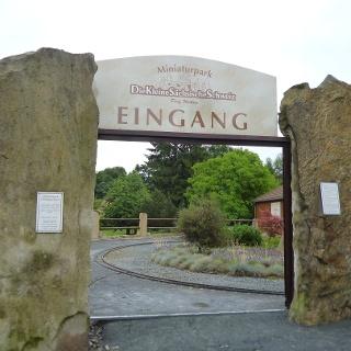 Das Tor zum Miniaturpark Kleine Sächsische Schweiz