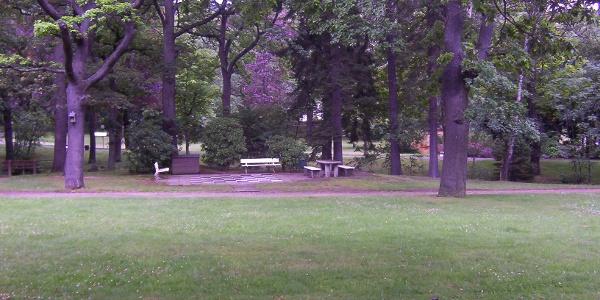 Der Kurpark in Bad Harzburg.