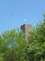 Foto Turm der Burg Stolpen