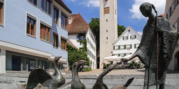 Brunnen in Leutkirch