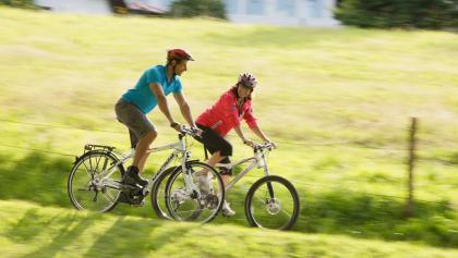 Radfahrer bei Bad Grönenbach