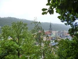 Foto Weitblick vom Aussichtspunkt Karls Ruhe