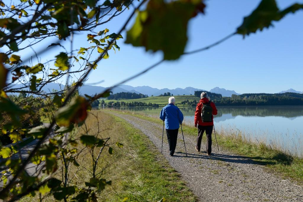 Entlang des Lechs auf dem LechErlebnisWeg bei Steingaden (Wolfgang Ehn)