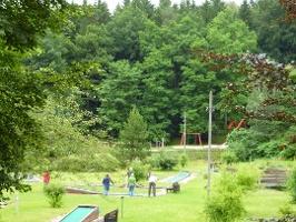 Foto Minigolfplatz an der Forellenschenke