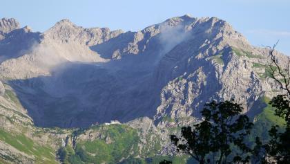 Wiedemerkopf (2163 m) - Blick von der Schwarzenberghütte