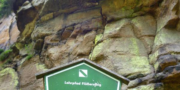 Felsformationen am Flößersteig