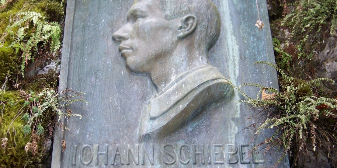 Johann Schiebel, der Erschließer der Klamm.