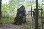 Der schöne Stein wurde 1581 aufgestellt.